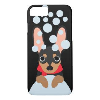 Snowball Miniature Pinscher Dog iPhone 8/7 Case