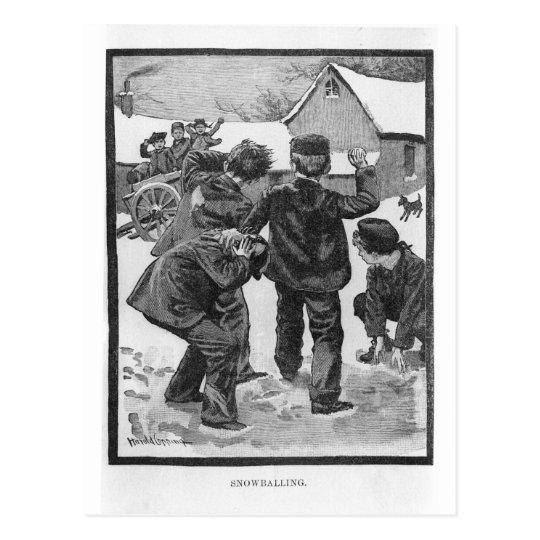 Snowballing! Postcard