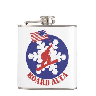 Snowboard Alta Hip Flask
