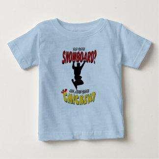 SNOWBOARD CHICKEN 2 BABY T-Shirt