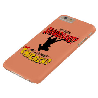 SNOWBOARD CHICKEN 2 BARELY THERE iPhone 6 PLUS CASE
