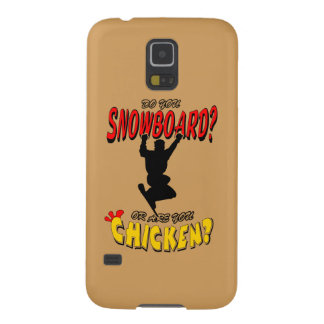 SNOWBOARD CHICKEN 2 GALAXY S5 COVER