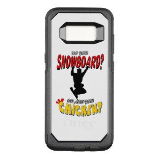SNOWBOARD CHICKEN 2 OtterBox COMMUTER SAMSUNG GALAXY S8 CASE