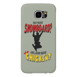 SNOWBOARD CHICKEN 2 SAMSUNG GALAXY S6 CASES