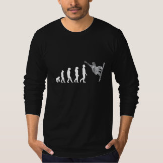 Snowboard evolution long arm herdsman gentlemen T-Shirt