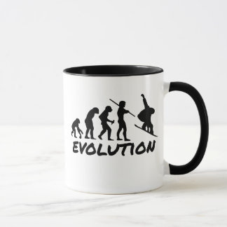 Snowboard Evolution Mug