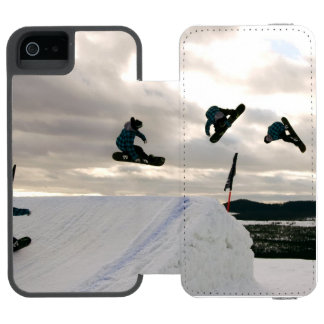 Snowboard Incipio Watson™ iPhone 5 Wallet Case