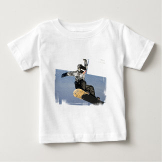 Snowboard Launch Baby T-Shirt