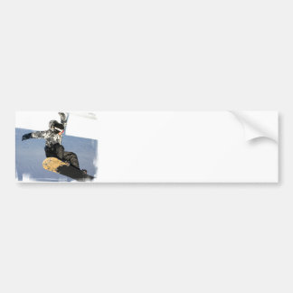 Snowboard Launch Bumper Stickers