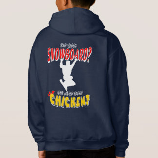 Snowboard or CHICKEN!?!? (wht)
