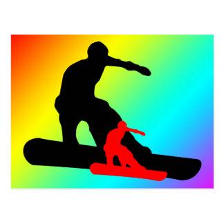 snowboard : shadowstance postcard