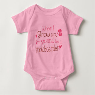 Snowboarder (Future) Infant Baby T-Shirt