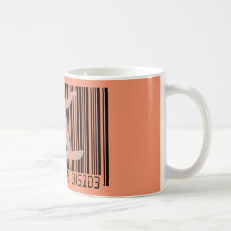 SNOWBOARDER INSIDE Barcode Coffee Mug