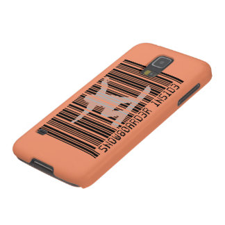 SNOWBOARDER INSIDE Barcode Galaxy S5 Cases