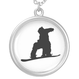 Snowboarder Necklace