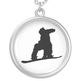 Snowboarder Necklace