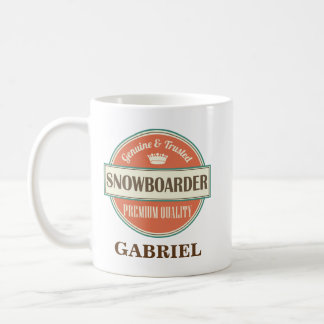Snowboarder Office Mug Gift