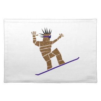 Snowboarder Placemat