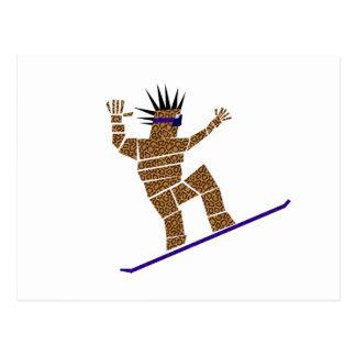 Snowboarder Postcard