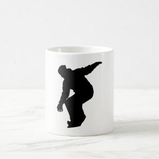 Snowboarder Silhouette Coffee Mug
