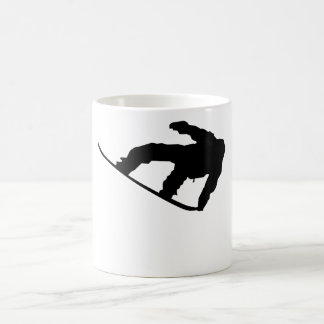 Snowboarder Silhouette Snowboarding Coffee Mug
