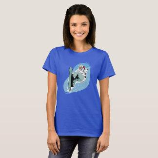 Snowboarder Snowboarding Women's Graphic T-Shirt