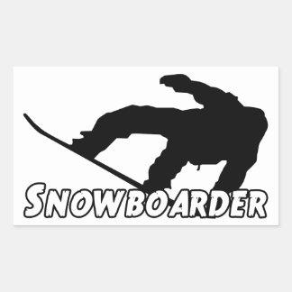 Snowboarder Sticker