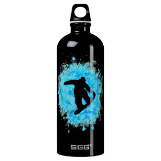 Snowboarder Waterbottle