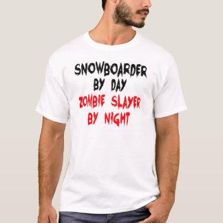 Snowboarder Zombie Slayer T-Shirt