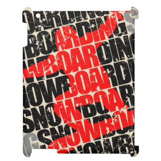 Snowboarding #1 (blk) cover for the iPad