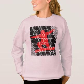 Snowboarding #1 (blk) sweatshirt
