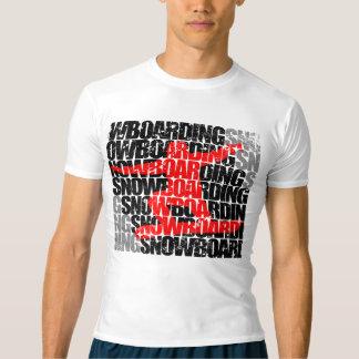 Snowboarding #1 (blk) t-shirt