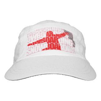 Snowboarding #1 (wht) headsweats hat