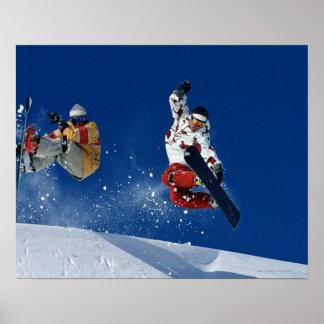 Snowboarding 8 poster