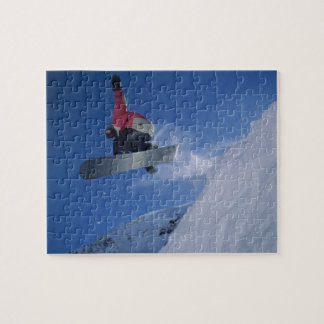 Snowboarding at Snowbird Resort, Utah (MR) Jigsaw Puzzle