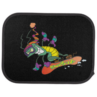 snowboarding bug car mat