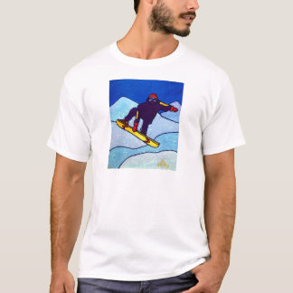 Snowboarding by Piliero T-Shirt