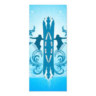 Snowboarding Card