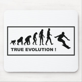 snowboarding evolution mouse pad