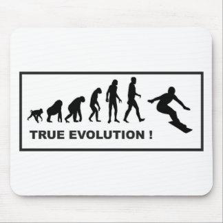 snowboarding evolution mouse pad