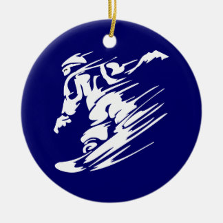 Snowboarding Extreme Sport Ornament