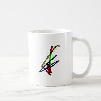snowboarding logo coffee mug
