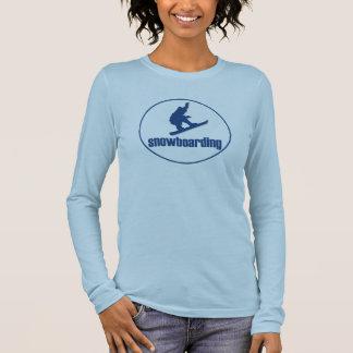 Snowboarding Long Sleeve T-Shirt