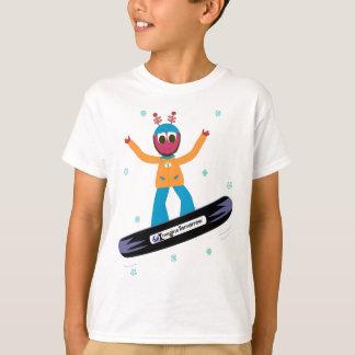 Snowboarding Puterbug T-shirt