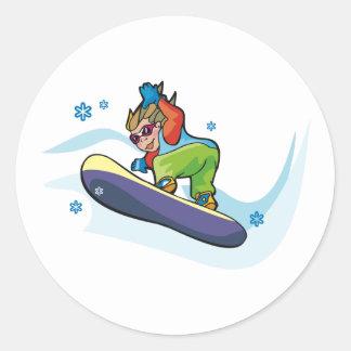 Snowboarding Stickers