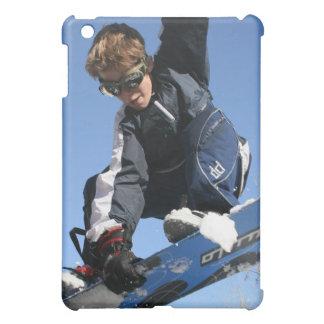 Snowboarding Teen iPad Case