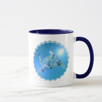 Snowboarding Tricks Pictures Coffee Mug