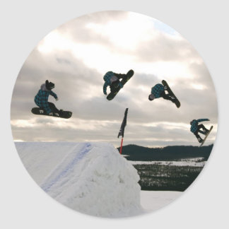 Snowboarding Tricks Stickers