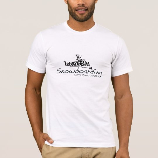 Snowboarding World Tour - Dream On.. T-Shirt