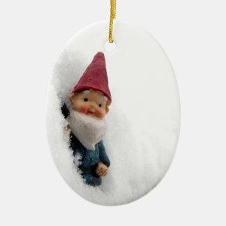 Snowbound Hector Ceramic Ornament